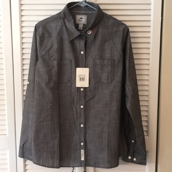 Roots Tops - Roots XL Button Down Shirt